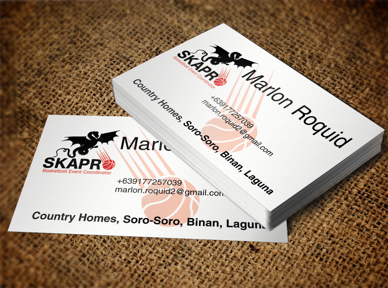 Masculine, Upmarket, Sporting Good Business Card Design for a ...