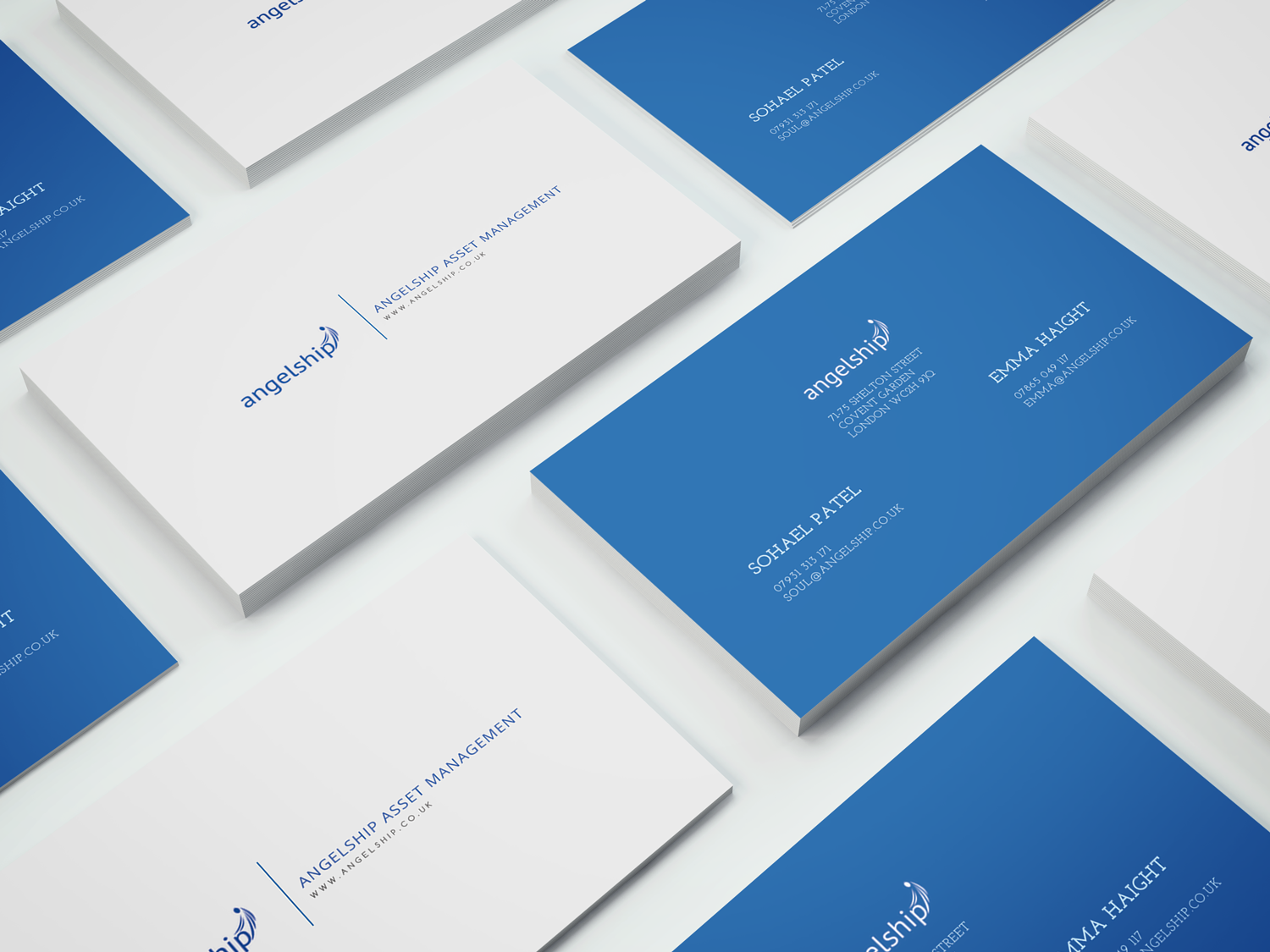 Upmarket, Serious, Real Estate Development Business Card Design for
