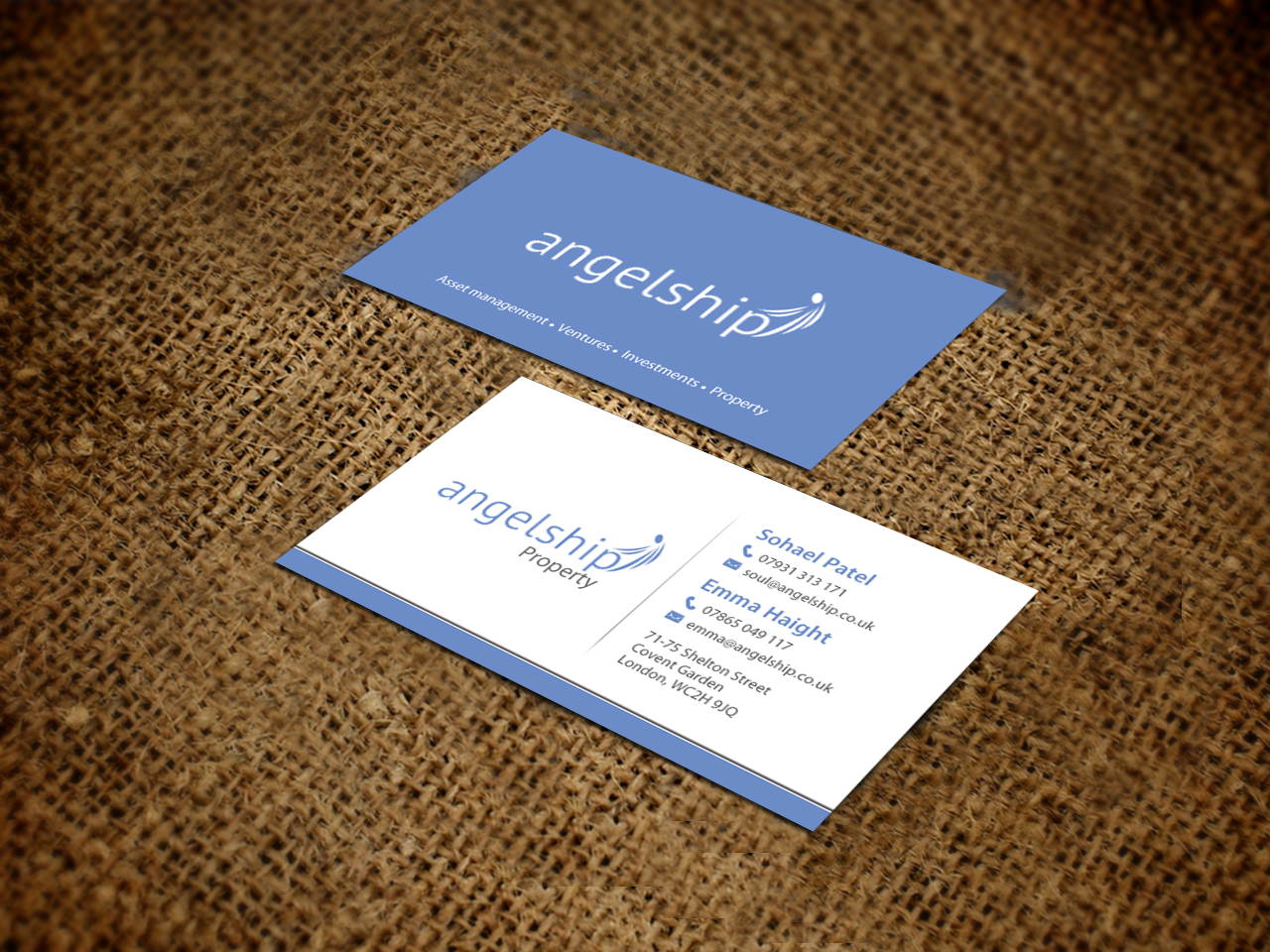 Business Card Design By Chandrayaan Creative For Modern And Innovative Property Development