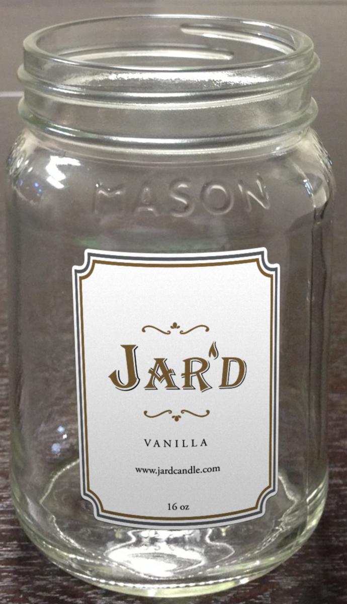 Mason Jar Jar Logo Design