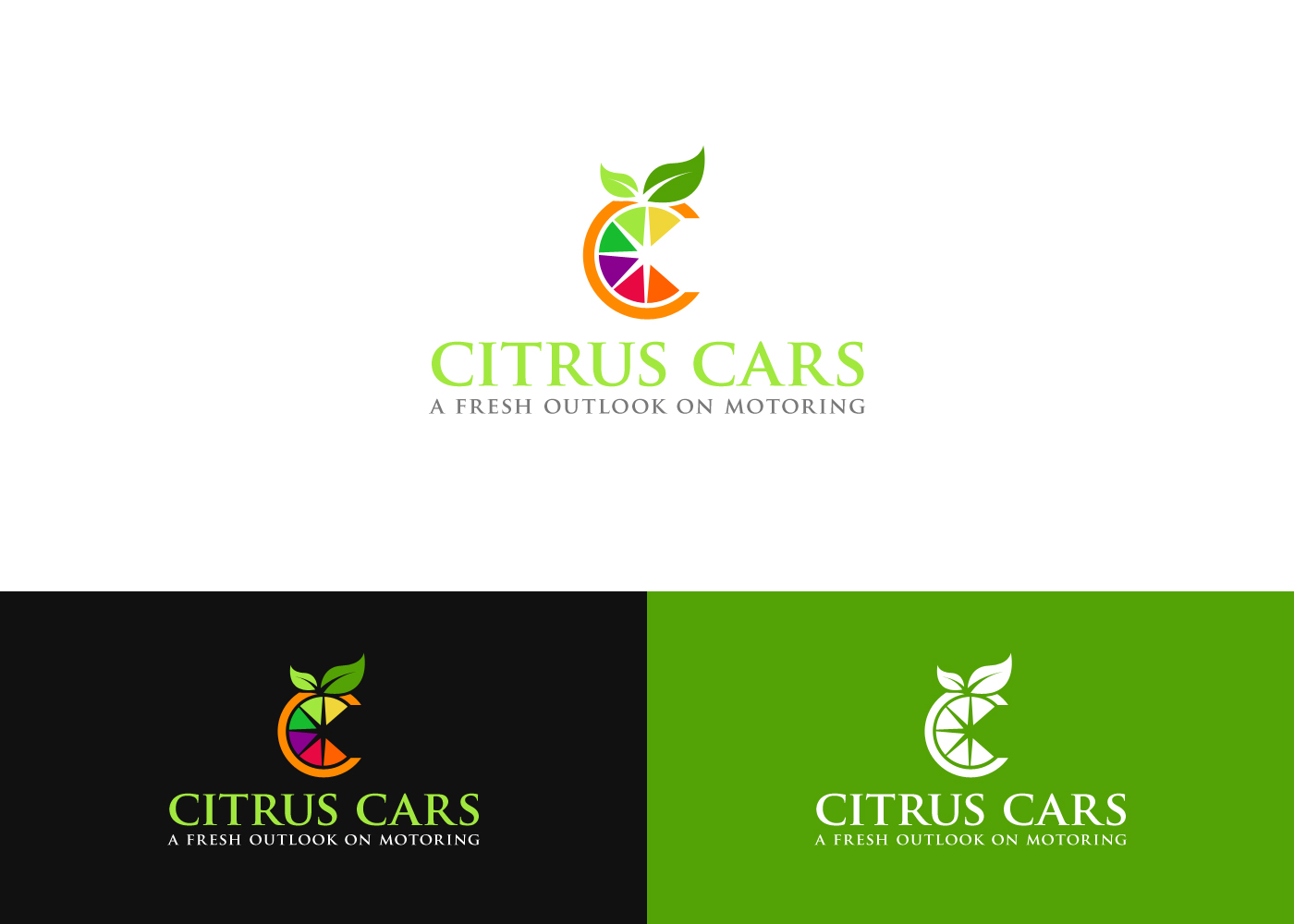 Modern Professional Used Car Logo Design For Citrus Cars By