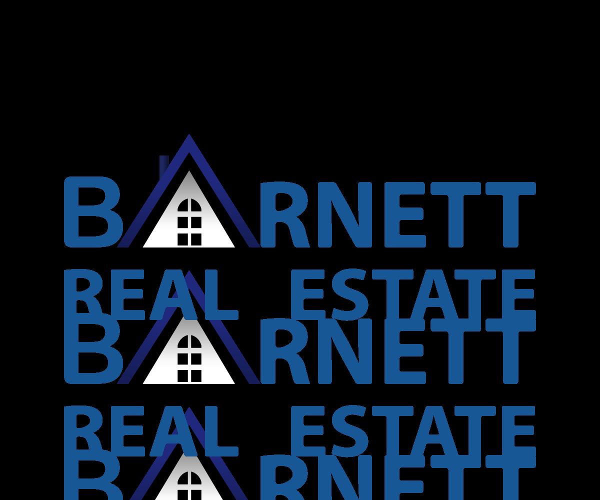 Real Estate Design : Real estate logo design for barnett by