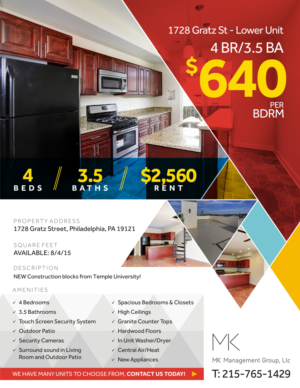 flyer design design 7432632 submitted to college apartment leasing flyer closed