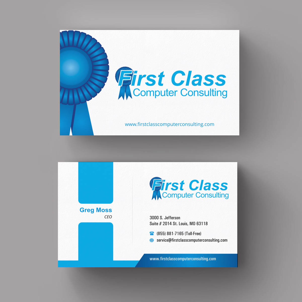 Elegant playful business business card design for first class business card design by indianashok for first class ventures llc design 7430251 colourmoves