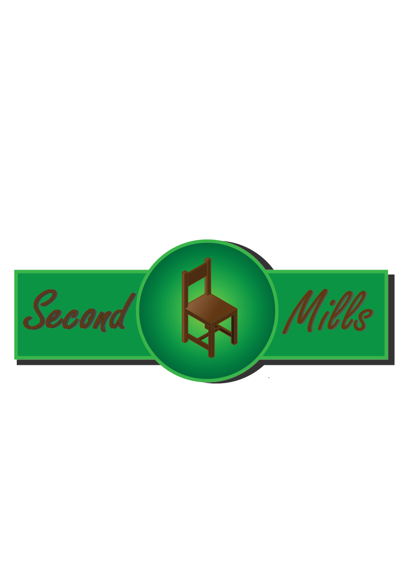 Serious Traditional Furniture Store Logo Design For Second Milled