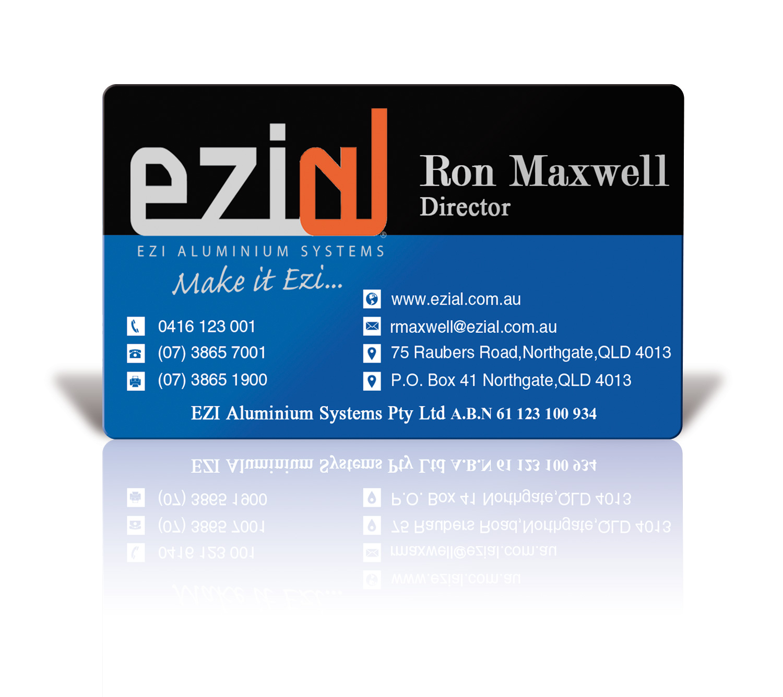 Modern, Professional, Building Business Card Design for Ezi