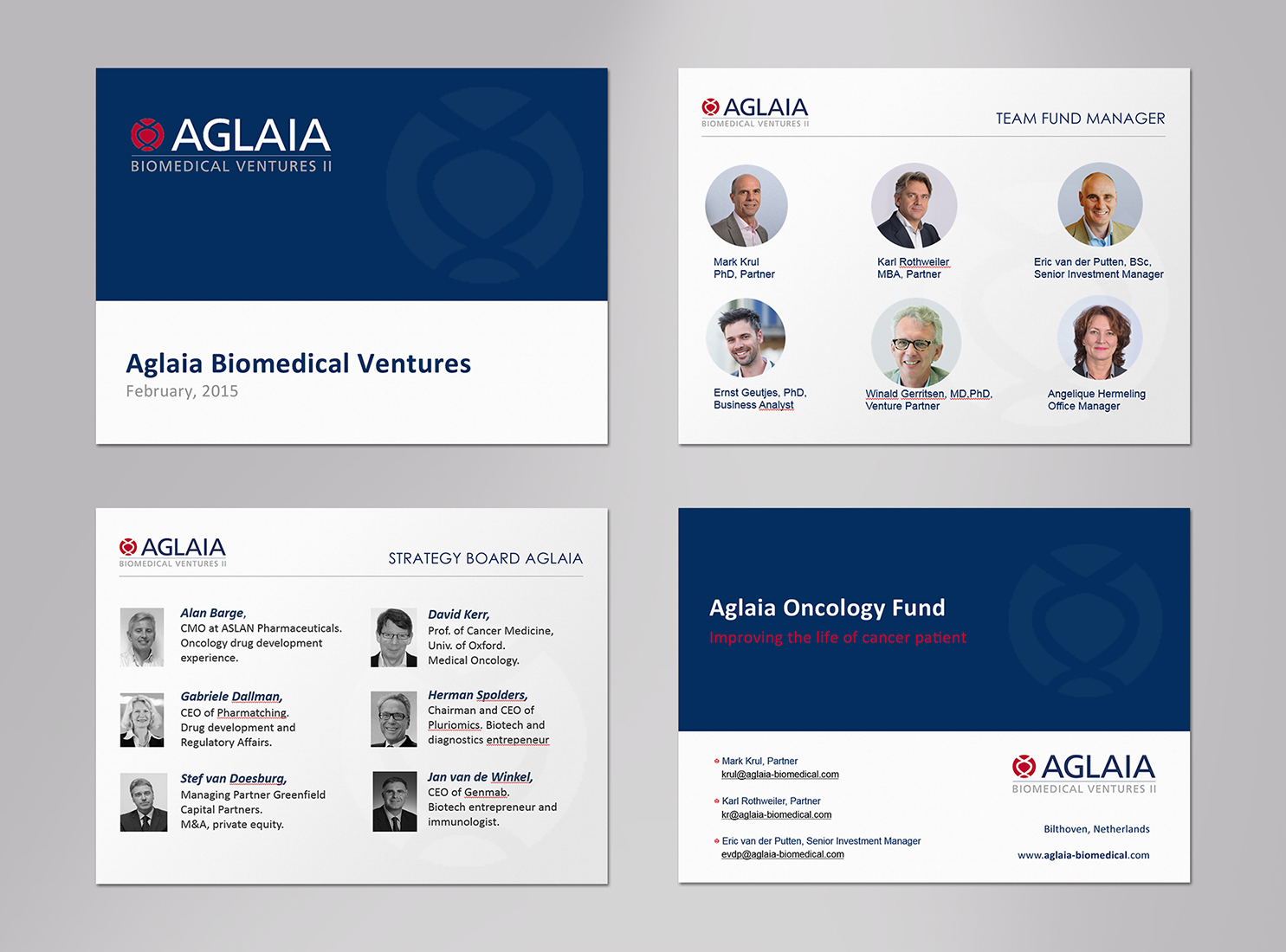 Elegant serious powerpoint design for aglaia biomedical ventures by powerpoint design by logodentity for biotech investment fund aglaia biomedical ventures needs powerpoint templates design toneelgroepblik Image collections
