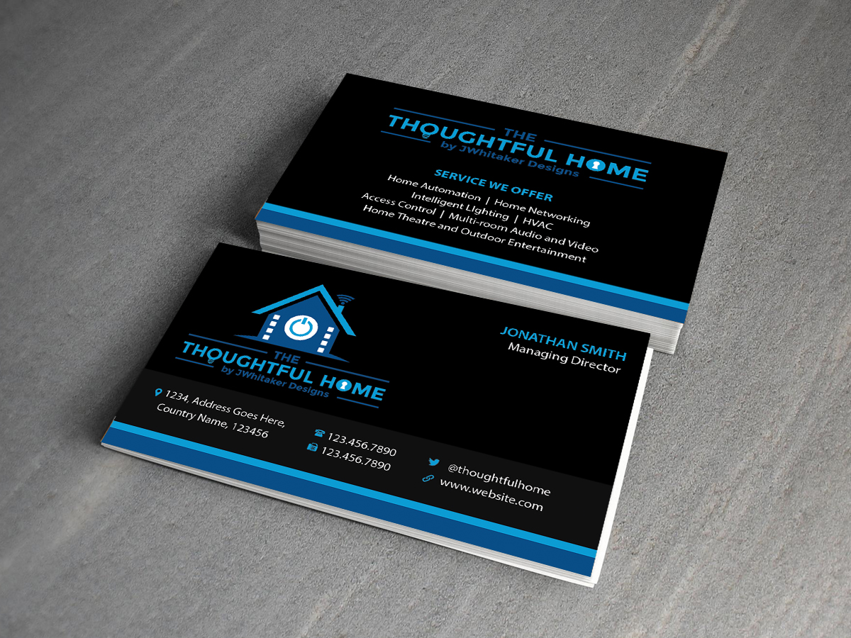 Audio Video Business Cards Image collections - Card Design And ...
