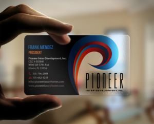 154 Upmarket Modern Home Builder Business Card Designs for a Home ...