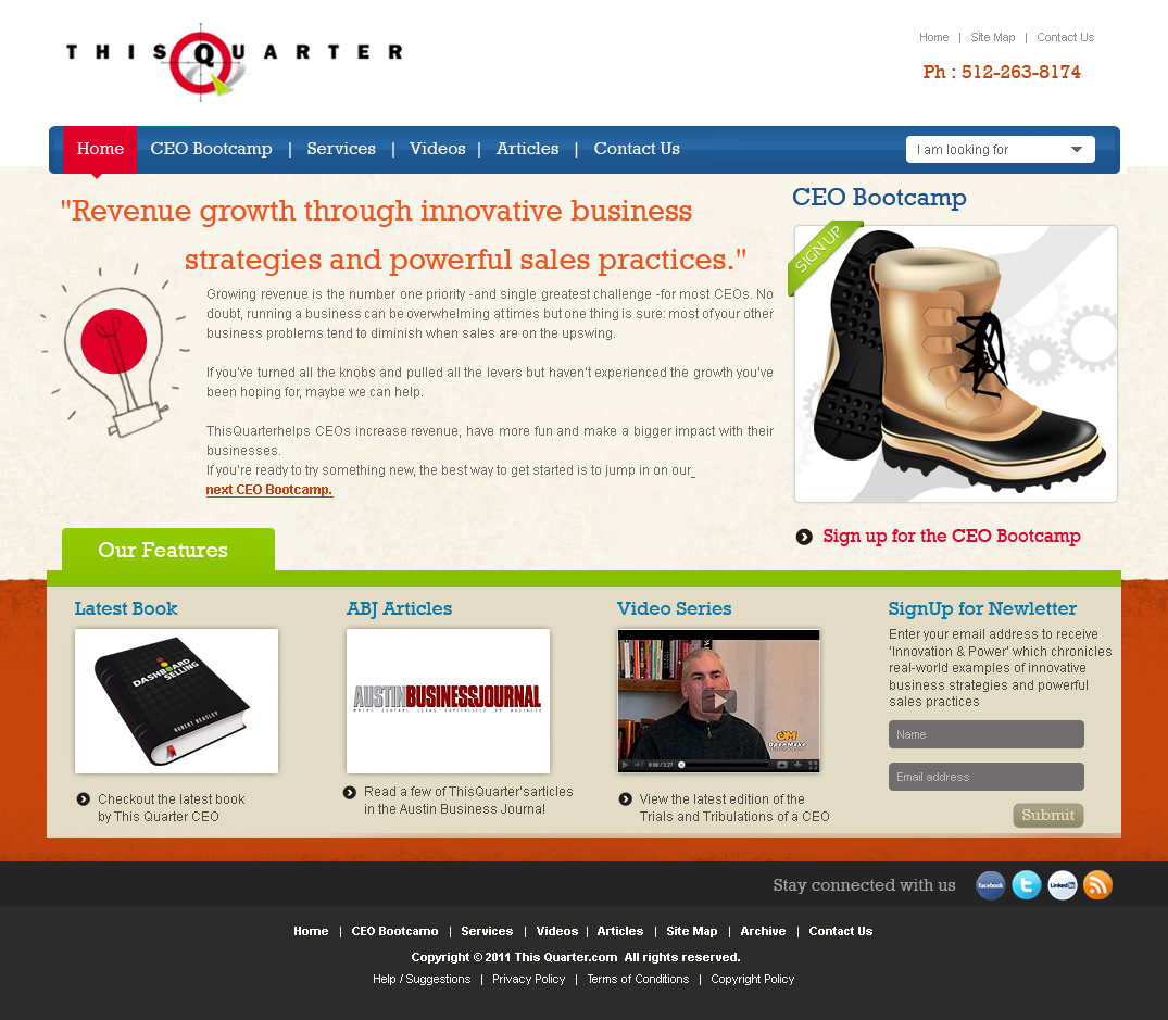 Masculine bold business web design for a company by mr for Masculine web design