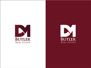 72 Upmarket Serious Real Estate Logo Designs for DM Butler Real ...