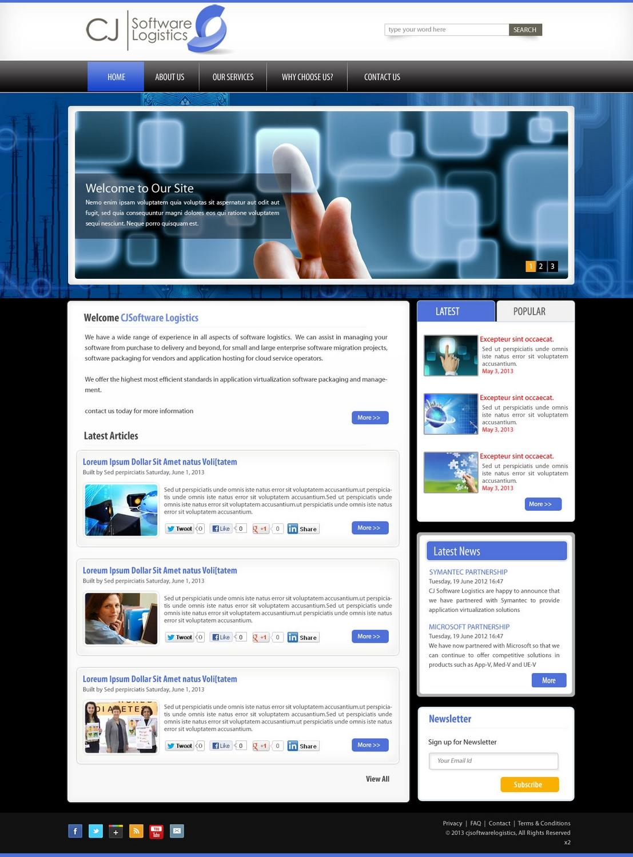Professional modern real estate web design for cj for Real estate design software