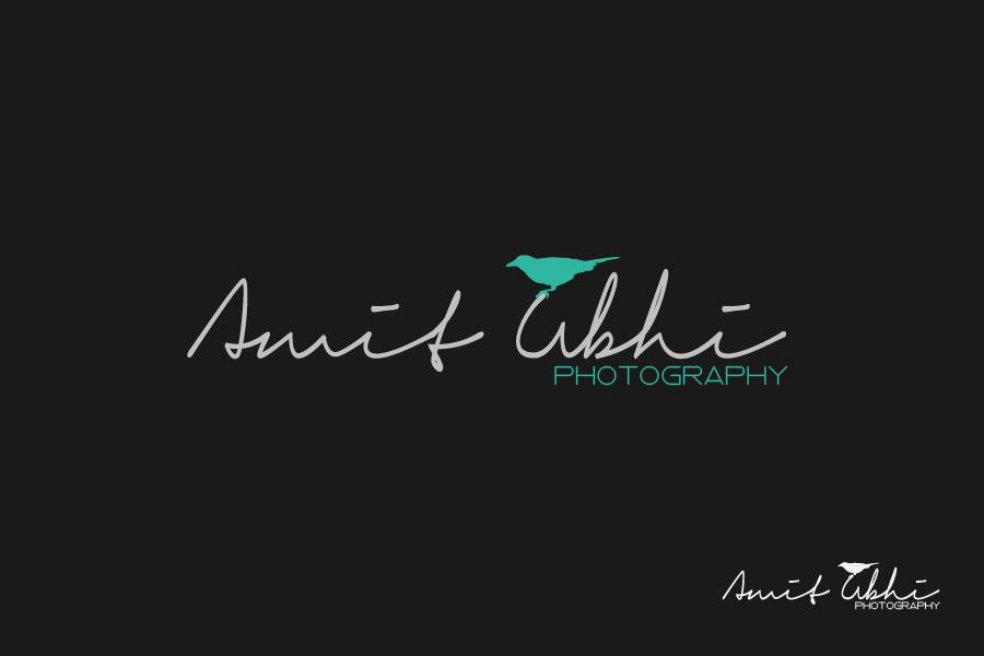 Upmarket Elegant Wedding Logo Design For Amit Ubhi Or Amit Ubhi Photography Or A Play On Au By Mark Arvin Design 7734241