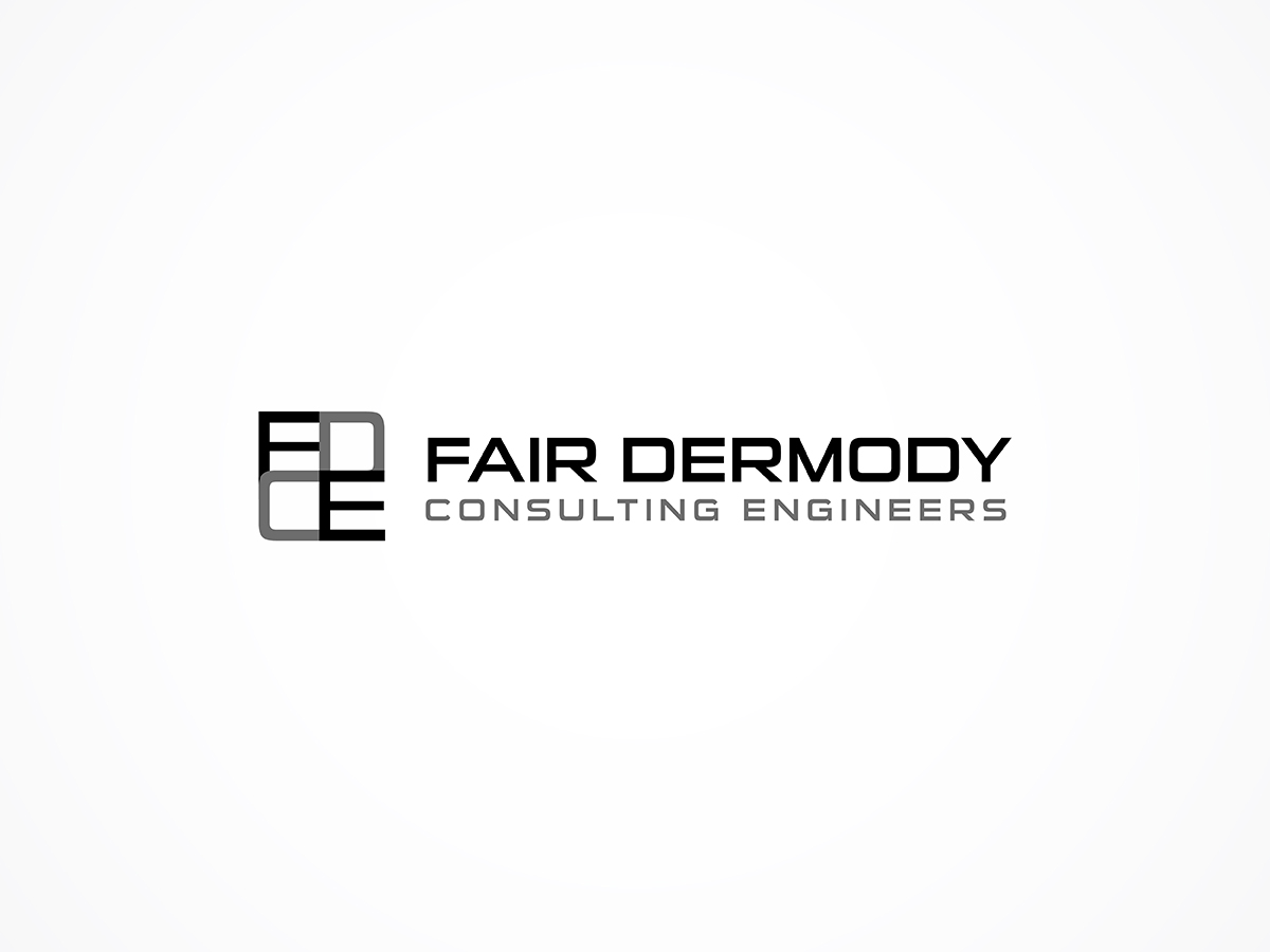 Modern professional consulting logo design for fdce or for Modern design consulting engineering office