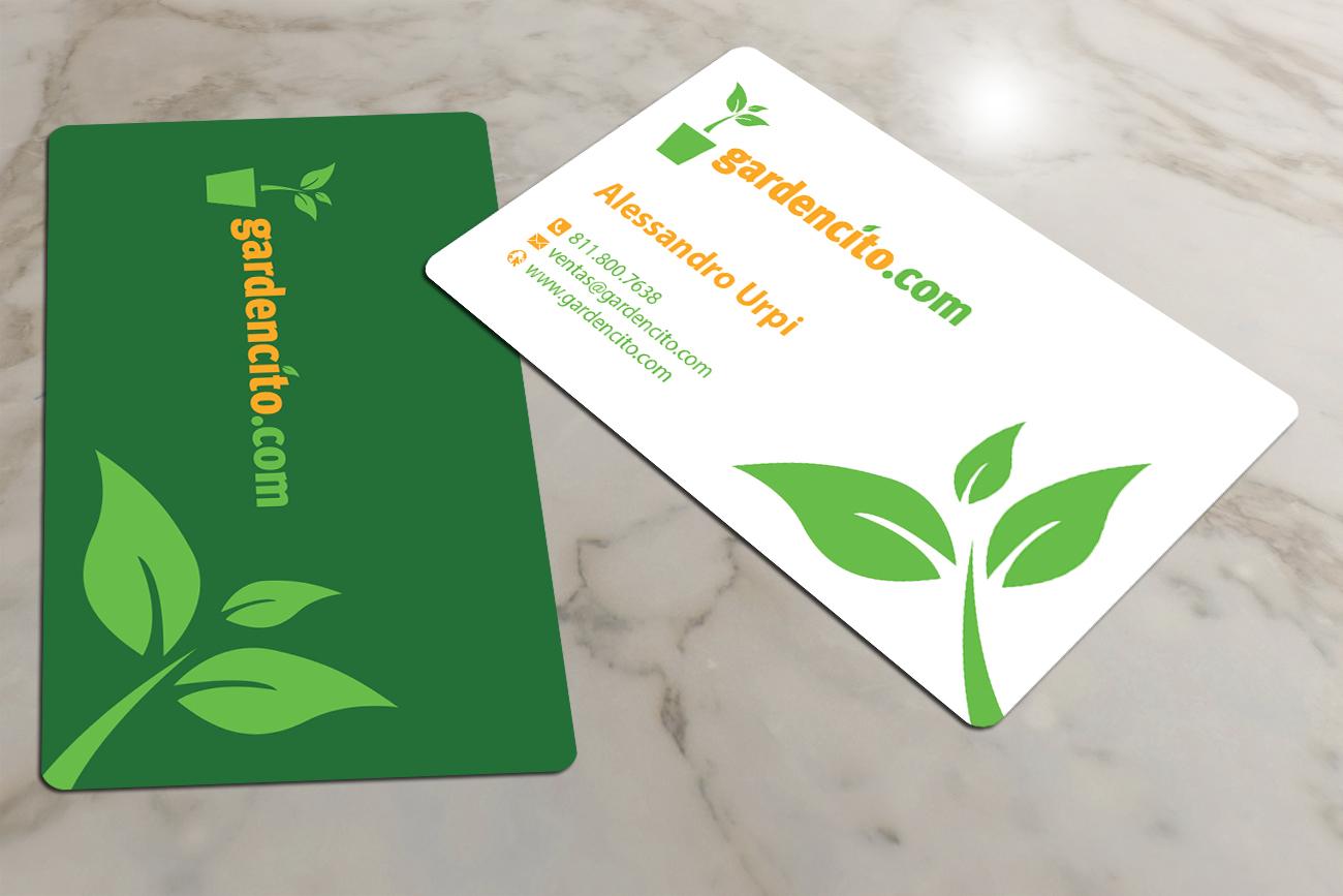 109 Bold Business Card Designs   Landscape Gardening Business Card ...