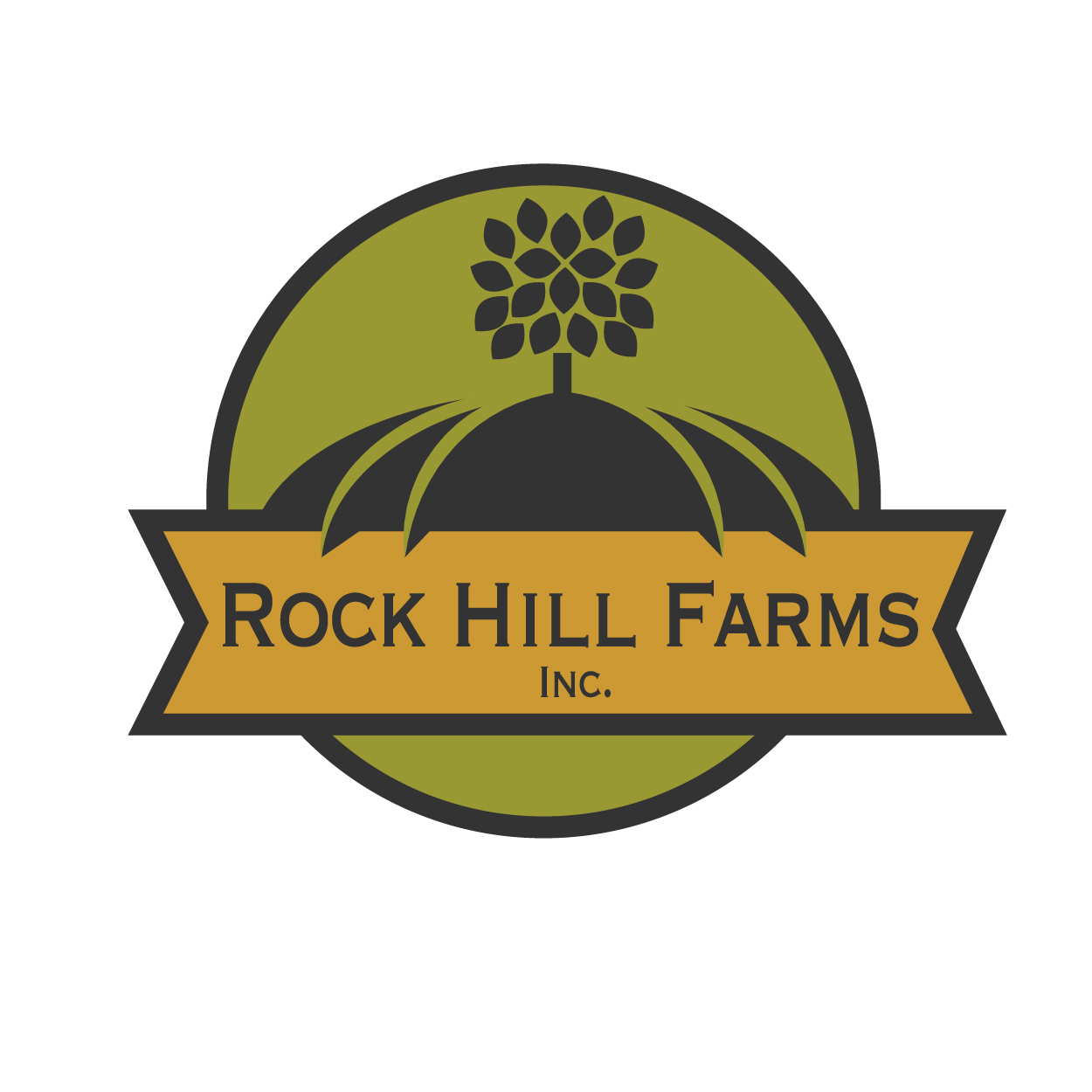 farm logo design for rock hill farms inc by thomasdesign design 7491842
