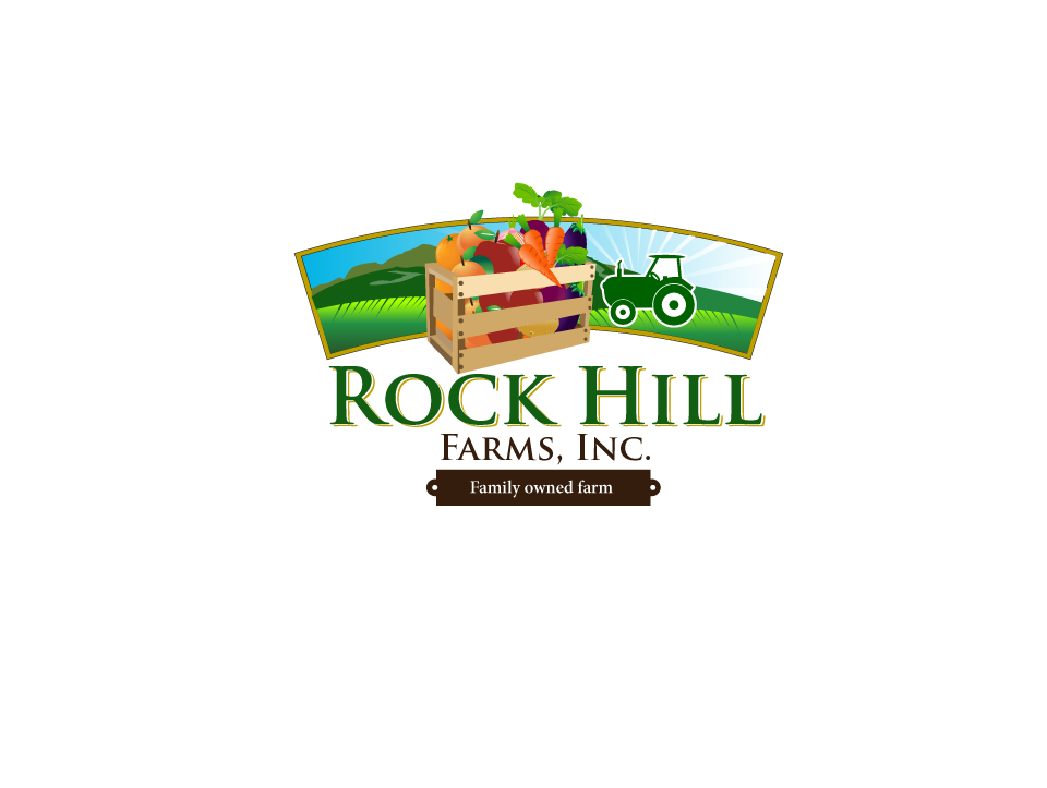farm logo design for rock hill farms inc by aleksic design 7478930
