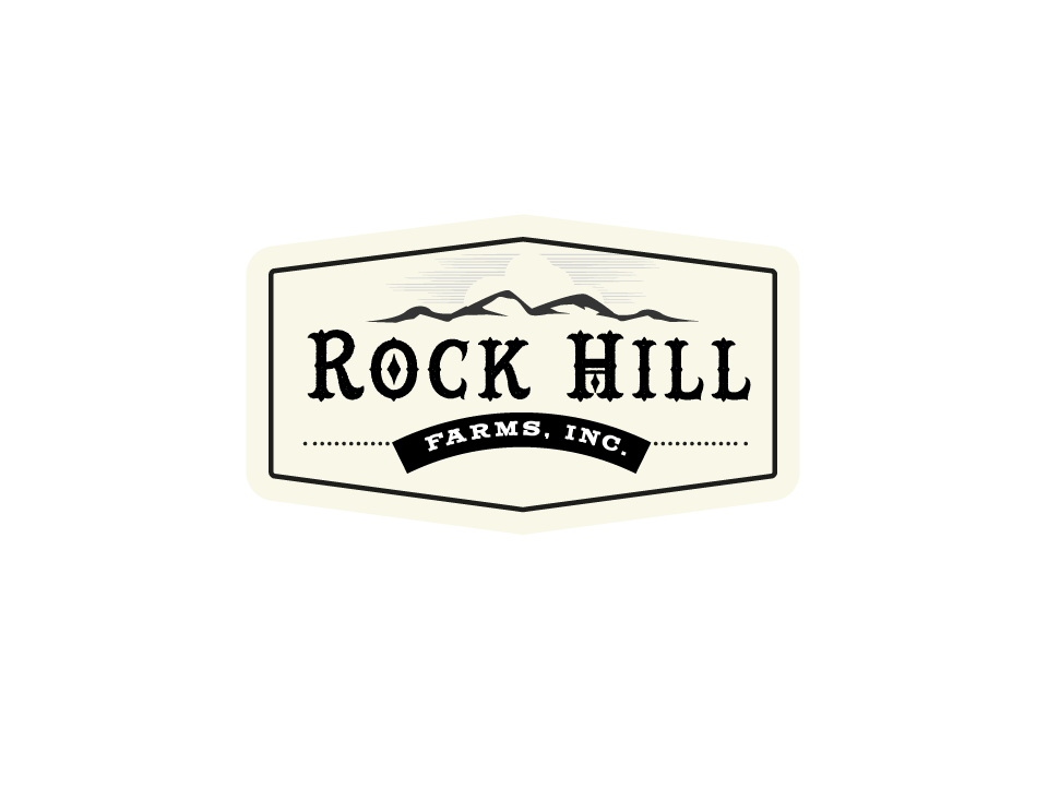 logo design for rock hill farms inc by aleksic design 7478934