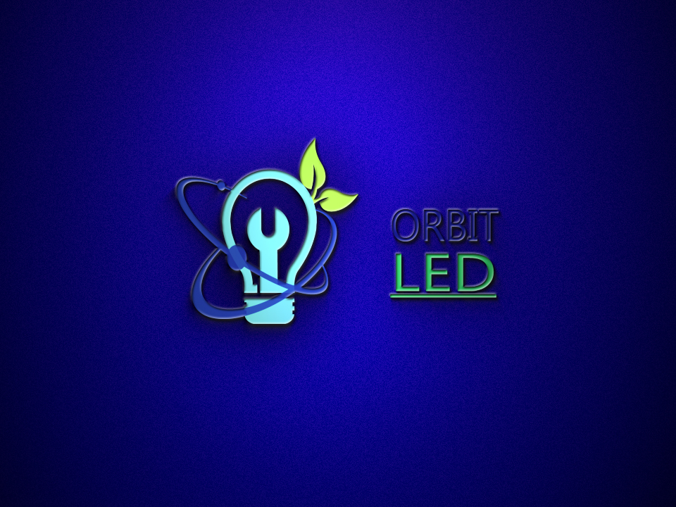 Bold, Serious, Electrical Logo Design for Orbit Led by next