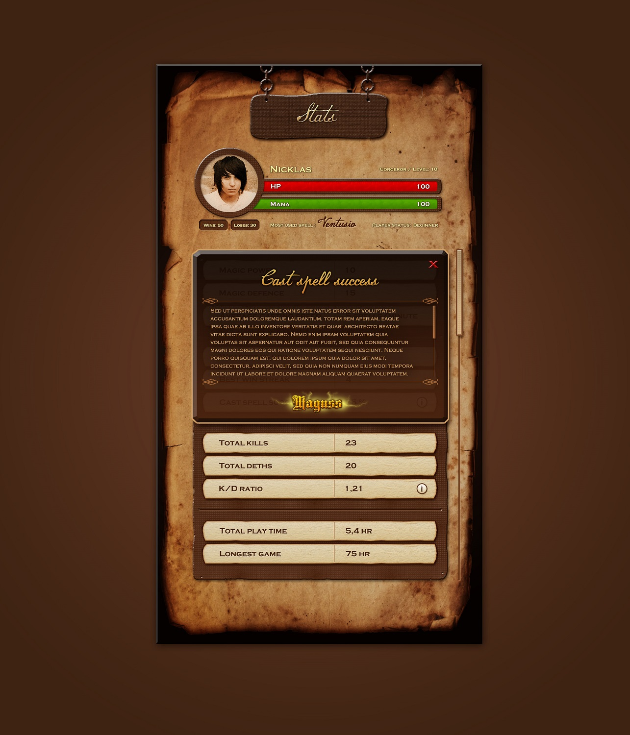 Playful, Conservative, Games App Design for a Company by dii