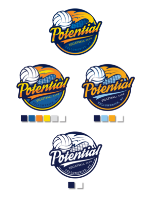 Volleyball Logo Design Galleries For Inspiration