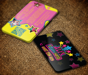 Business Card Design 7751416 Submitted To Children S Paty Stars Face Painting Designer Mt