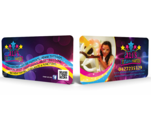 Business Card Design 7785601 Submitted To Children S Paty Stars Face Painting