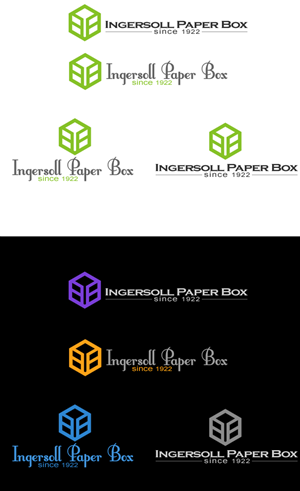 Logo Design by Simon_Design - Ingersoll Paper Box Rocks!