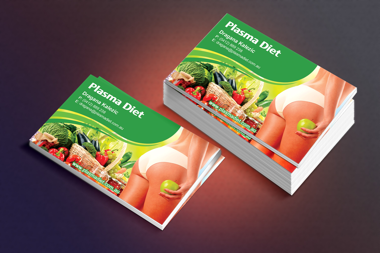 Elegant playful business card design for richard houston by business card design by sandaruwan for plasma diet business card design 7505948 magicingreecefo Choice Image