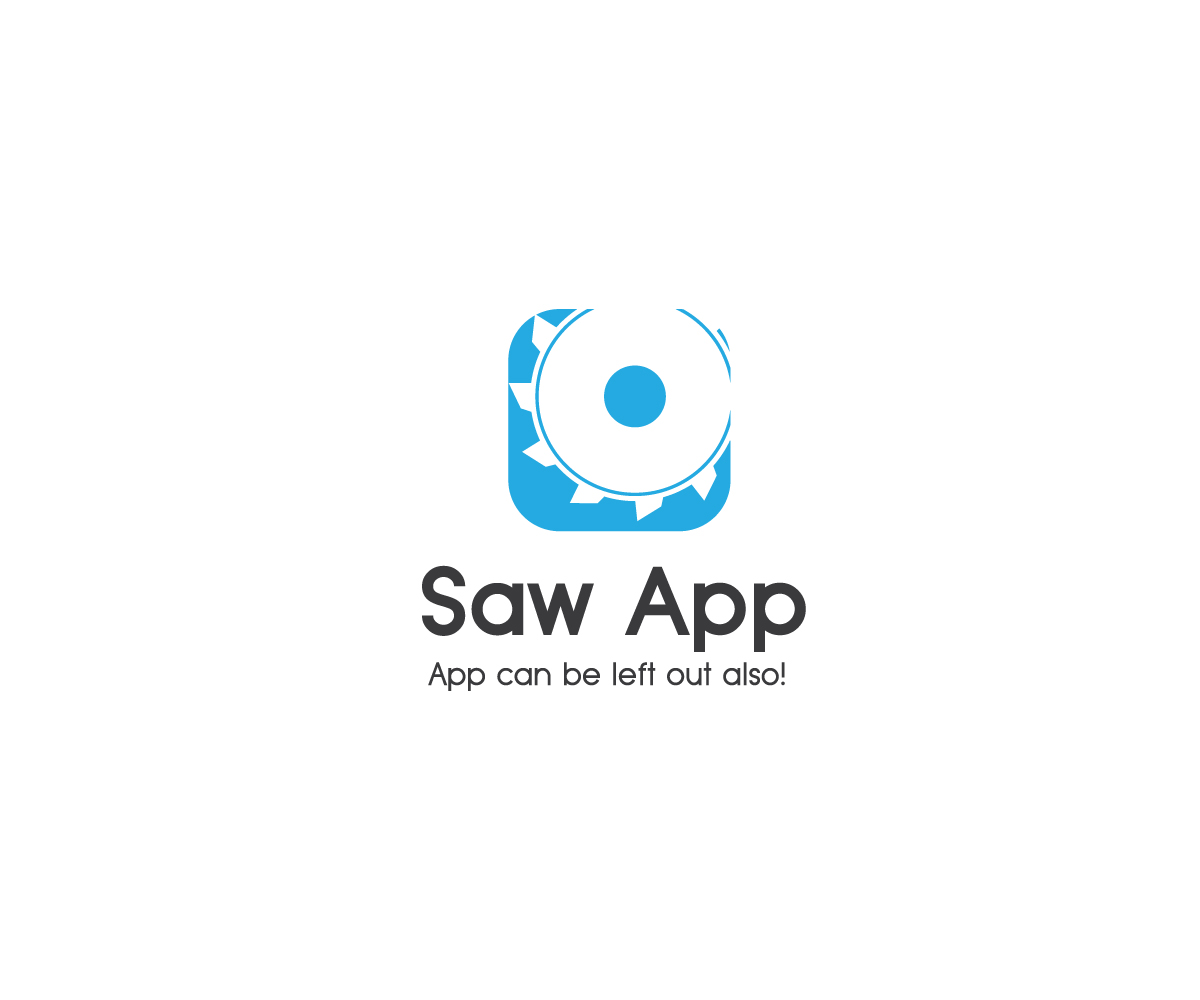 Fett spielerisch industrial logo design for saw app for Logo creation wizard