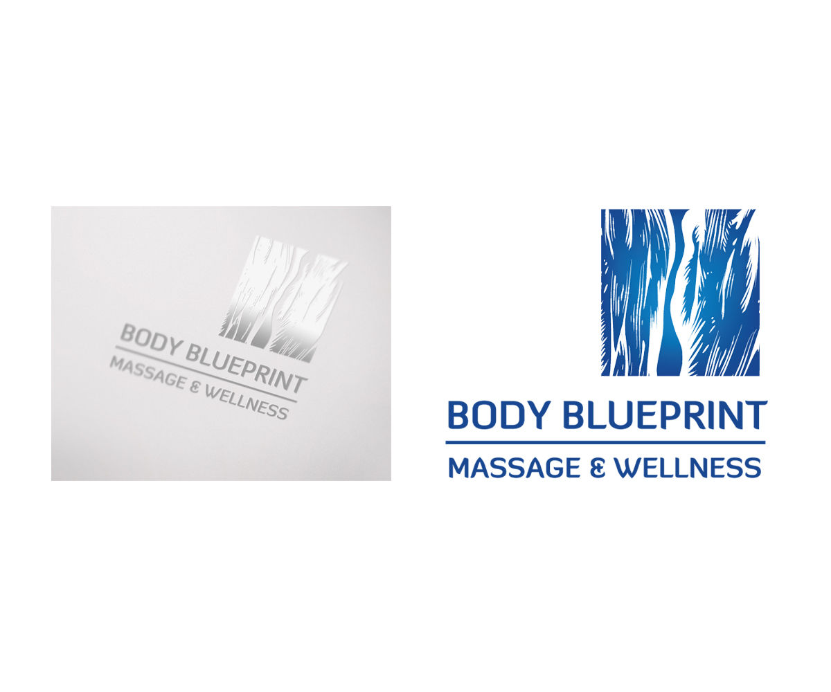Modern serious logo design for body blueprint massage and wellness logo design by gingko for body blueprint massage and wellness design 1952311 malvernweather Choice Image