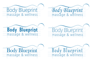 41 modern logo designs massage logo design project for body logo design by nina bain for body blueprint massage and wellness design 1932179 malvernweather Image collections
