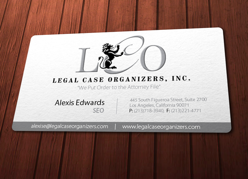 Serious professional printer business card design for legal case business card design by chere for legal case organizers design 1909613 colourmoves