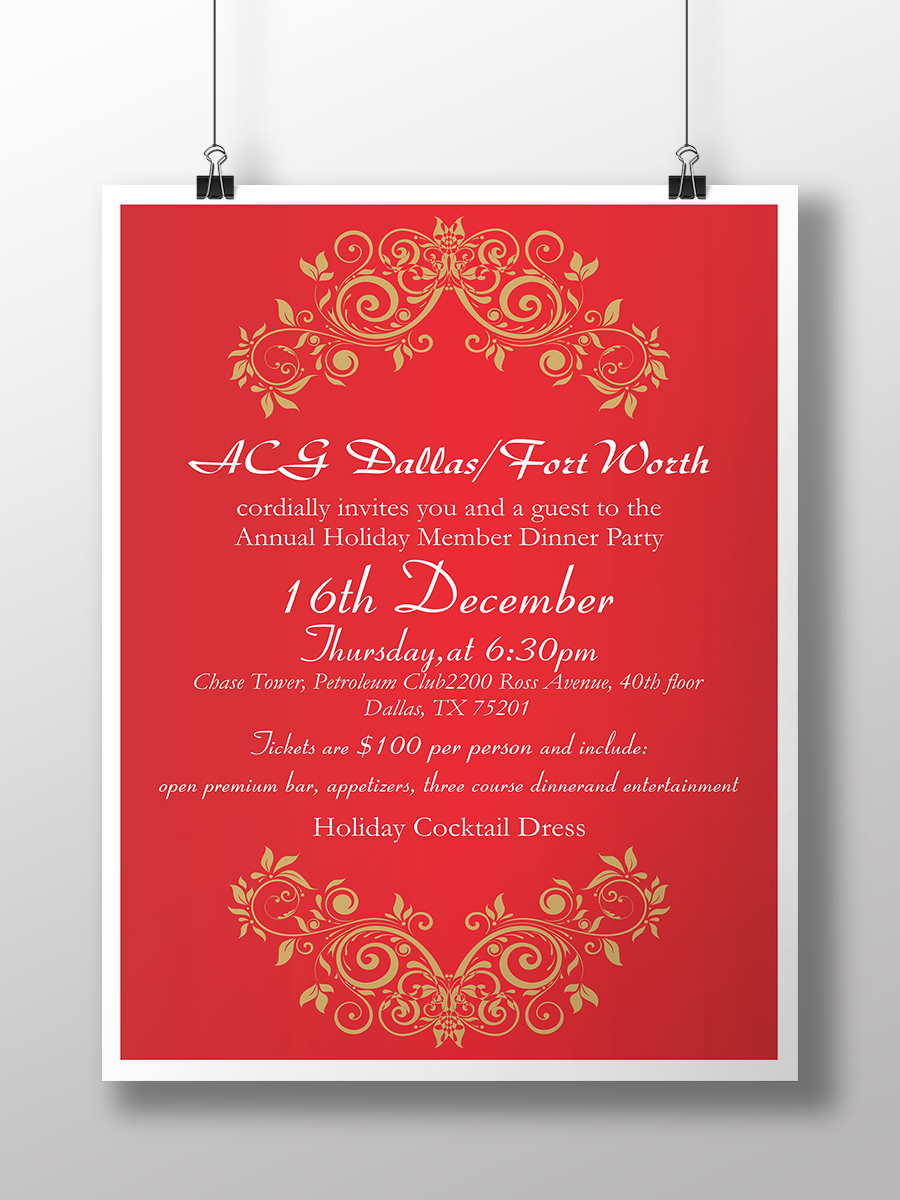 elegant serious event flyer design for a company in united states design 7518478