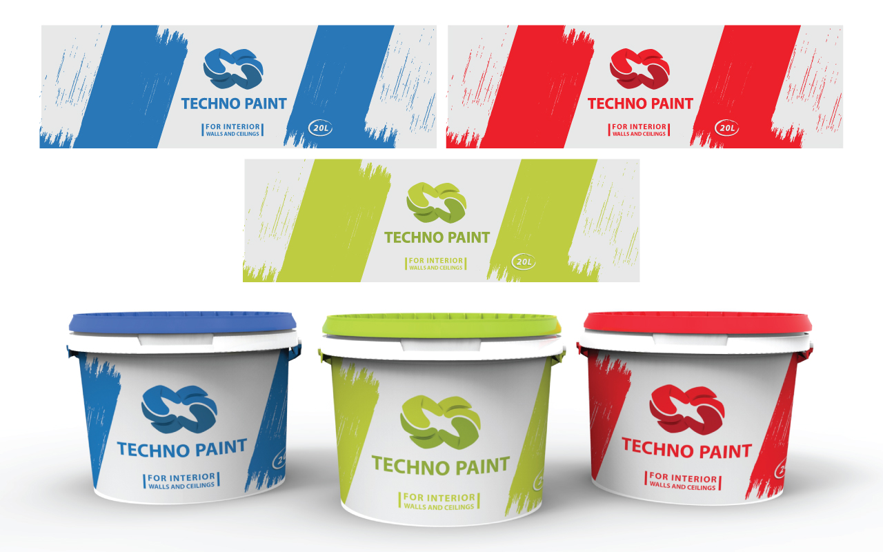 Techno Paint Chemical Industries Ltd 13 Label Designs For A Business In United States
