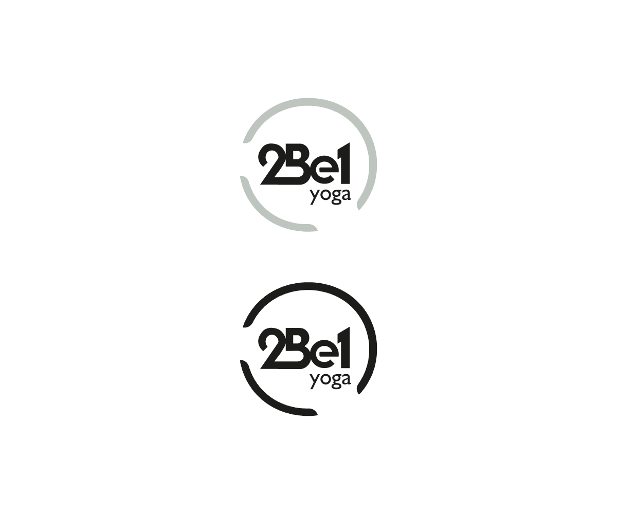 Modern Personable Clothing Logo Design For 2be1 Yoga By