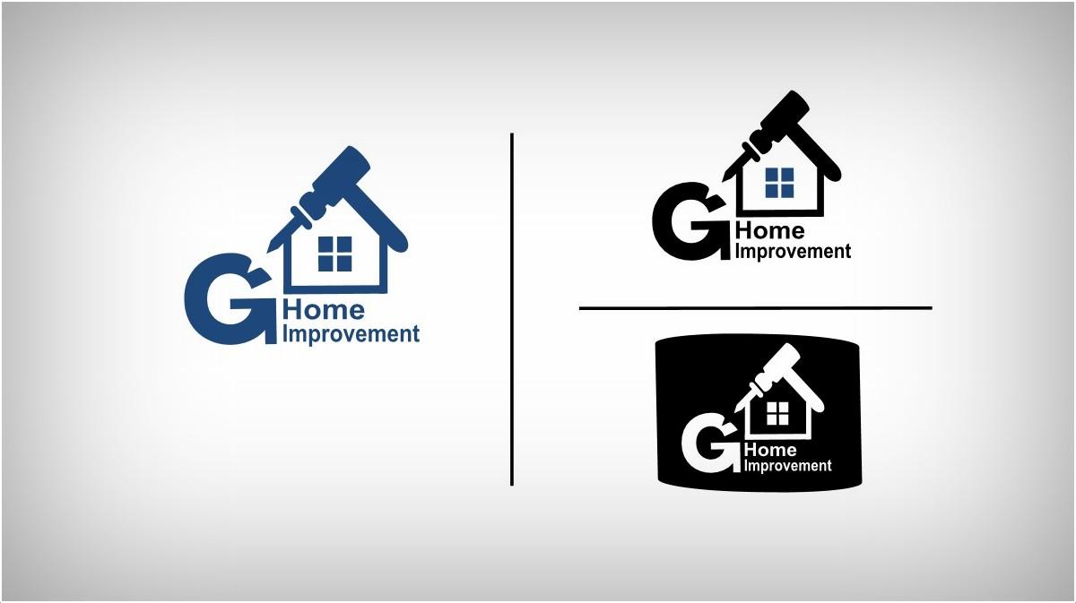 Home Improvement Logo Design For G Home Improvement By Umer Ahmed Design 1890102