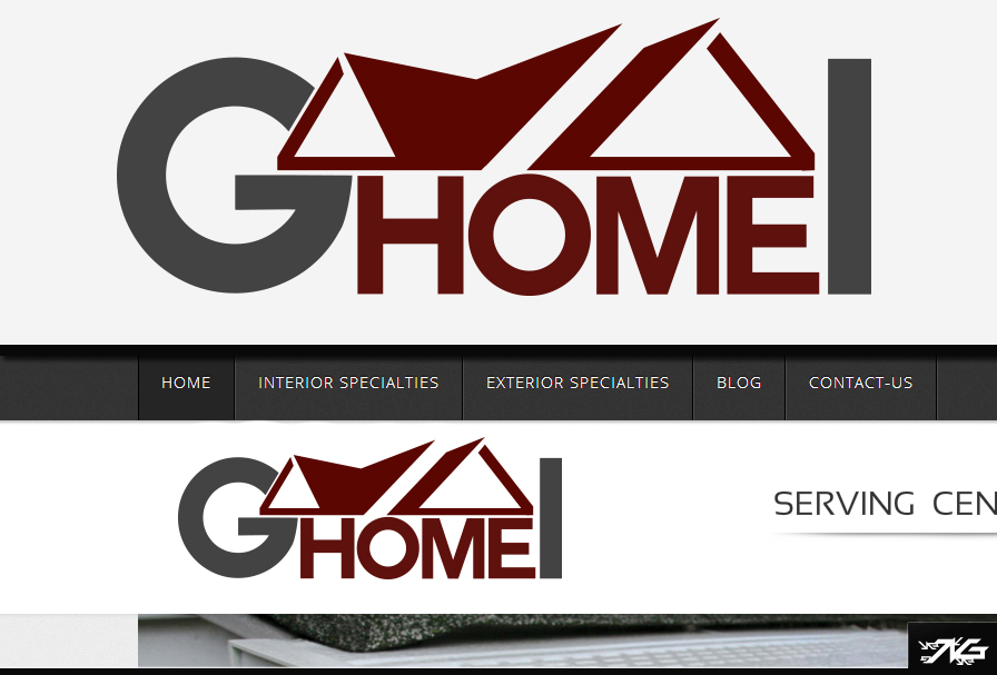 Logo Design By M.CreativeDesigns For Galushka Home Improvement And  Remodeling   Design #1889377