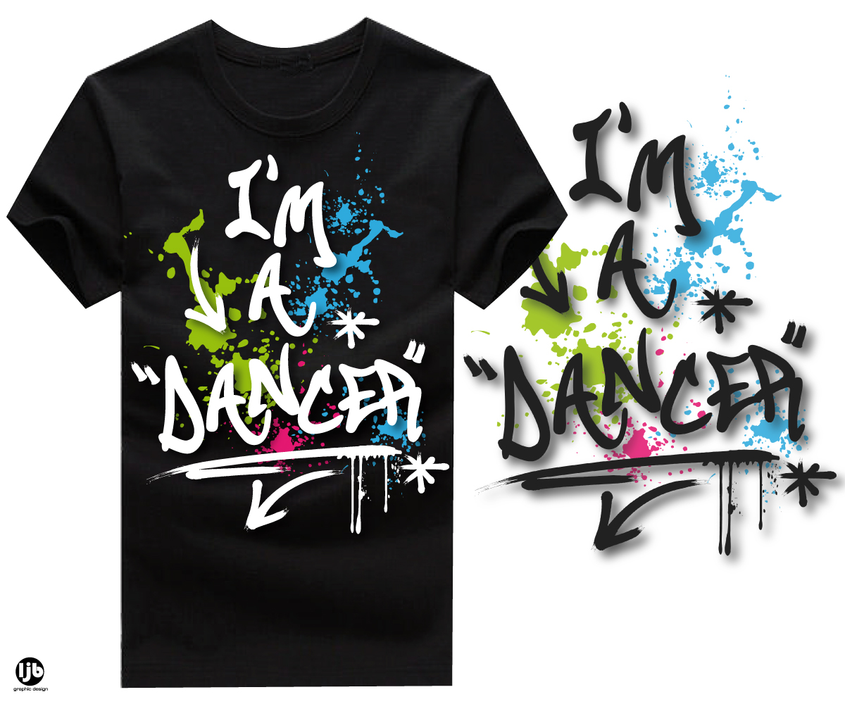 Design t shirt youtube - T Shirt Design By Lisa For Youtube Dance Star Needs A Cool I
