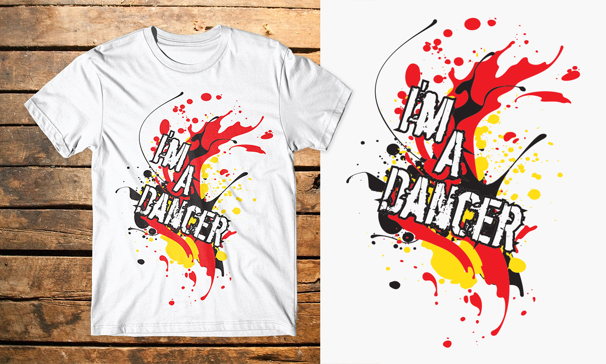 Design t shirt youtube - T Shirt Design Design 7610855 Submitted To Youtube Dance Star Needs A