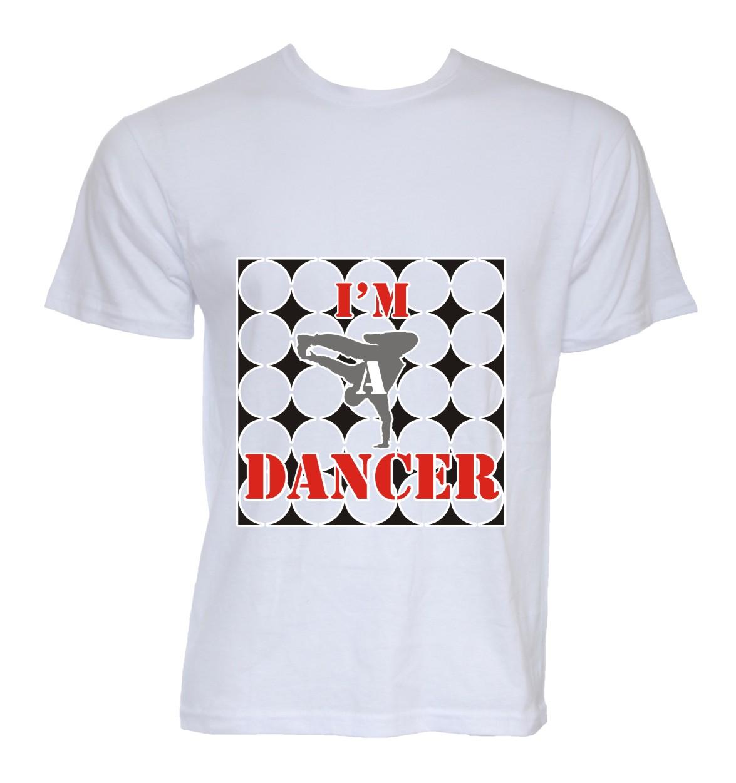 Design t shirt youtube - T Shirt Design By Nitin Kumar Chadha For Youtube Dance Star Needs A Cool