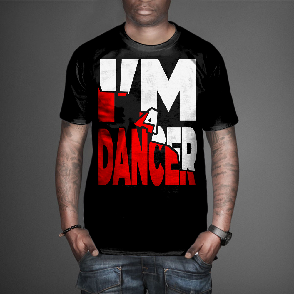 T shirt design youtube - T Shirt Design Design 7596521 Submitted To Youtube Dance Star Needs A