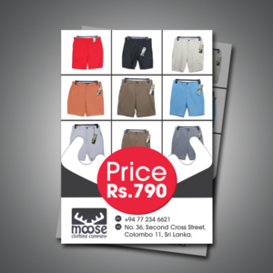 clothing flyer design galleries for inspiration