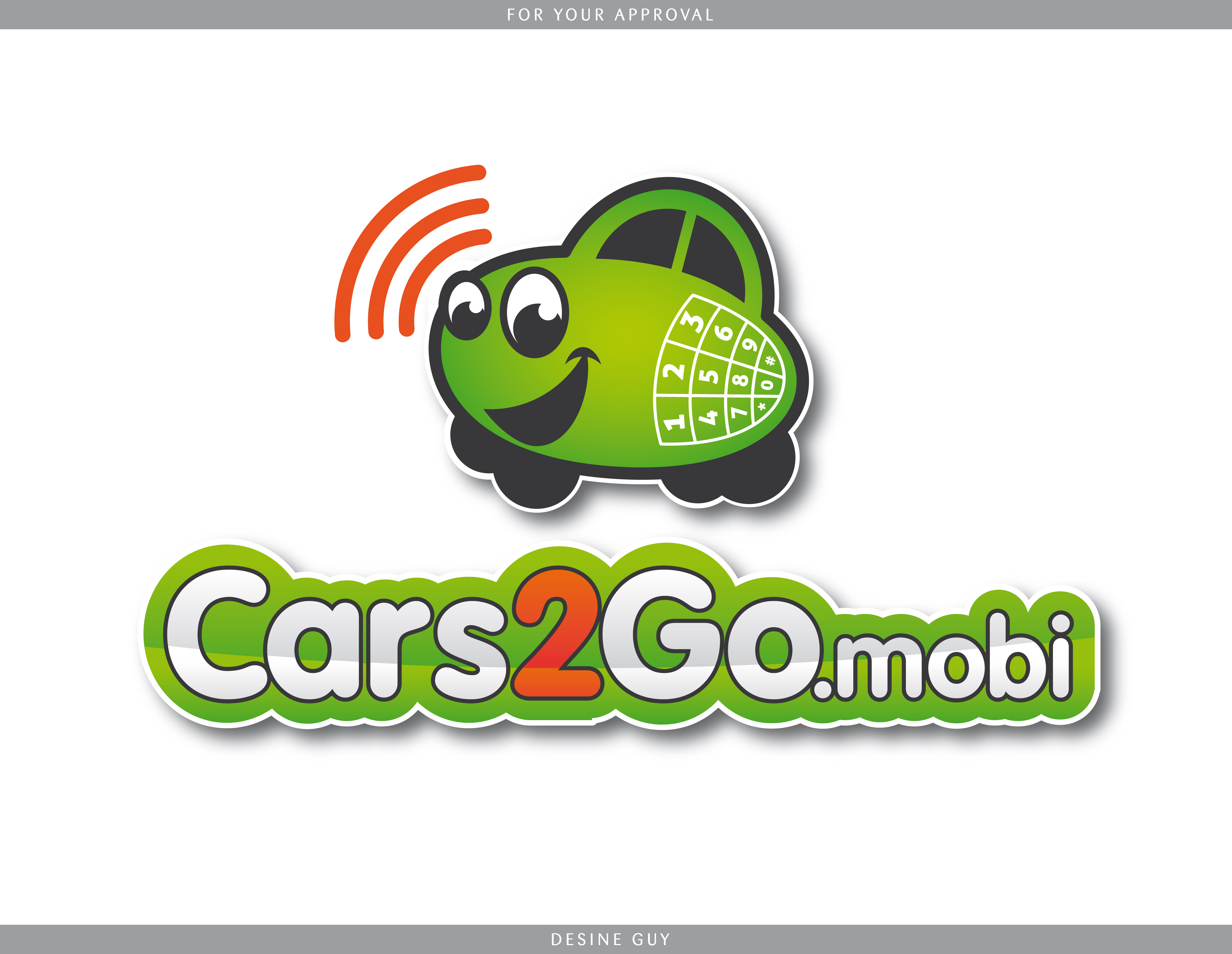 Logo Design job – Mobile Technology Service for Car Buyers – Winning design by S.R.Graphic Design