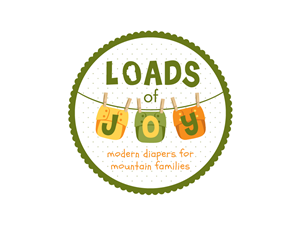 Logo Design by Preeti Dixit - 'Loads of Joy' cloth diaper service needs a logo!!