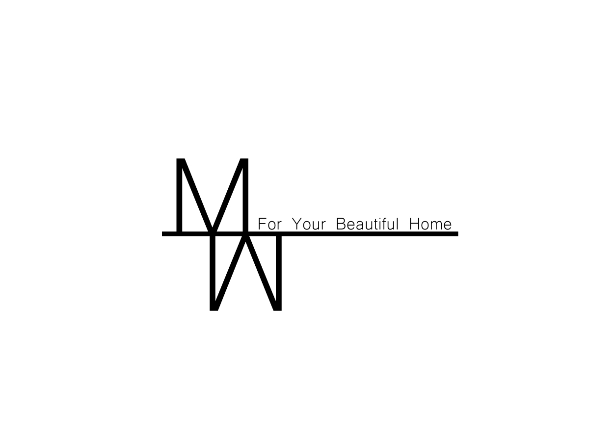 Modern Conservative Logo Design For Mm Interior Design