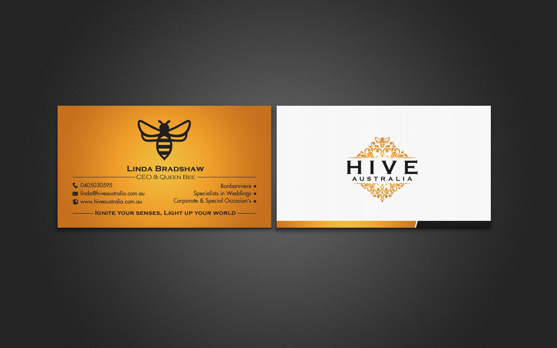 Elegant, Feminine, Business Business Card Design for HIVE AUSTRALIA ...