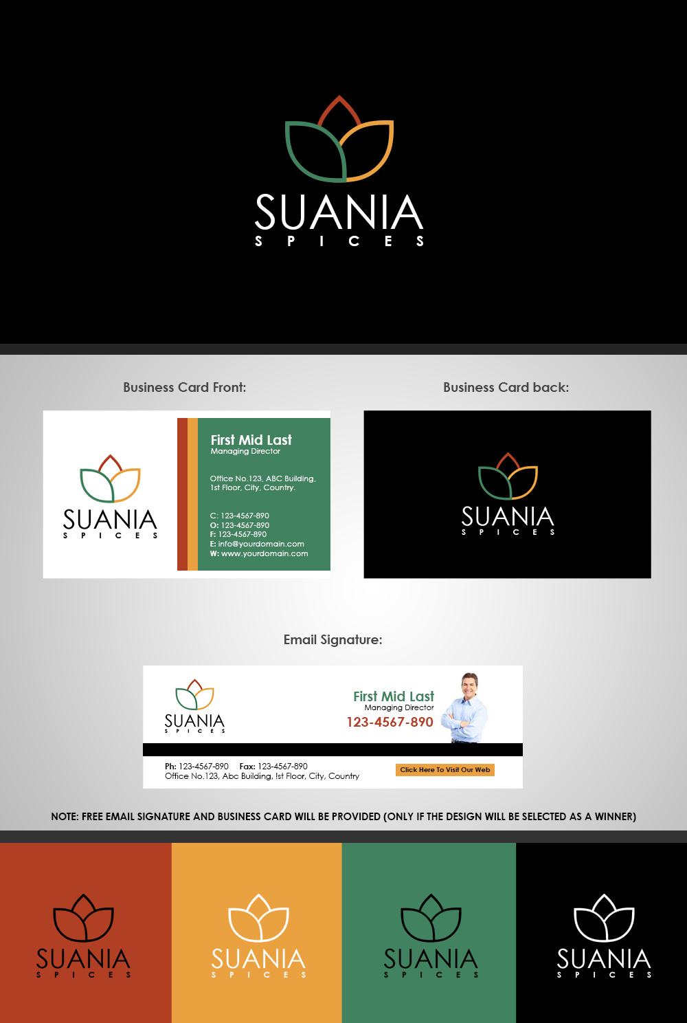 Business logo design for suania spices cook with me by moustache business logo design for happy brands in ireland design 7740544 reheart Gallery