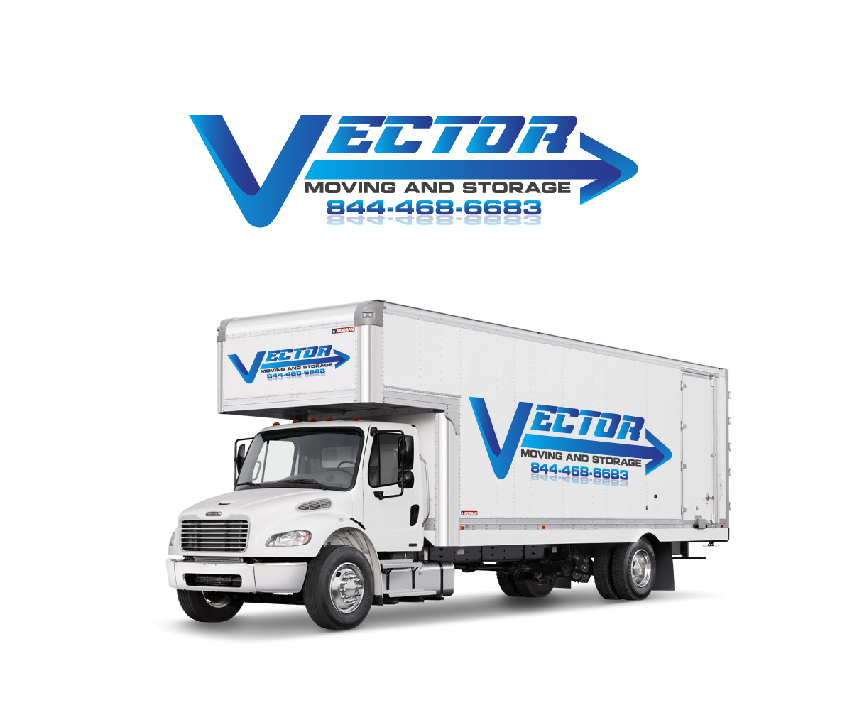 Masculine bold it company logo design for vector moving for Good greek moving and storage