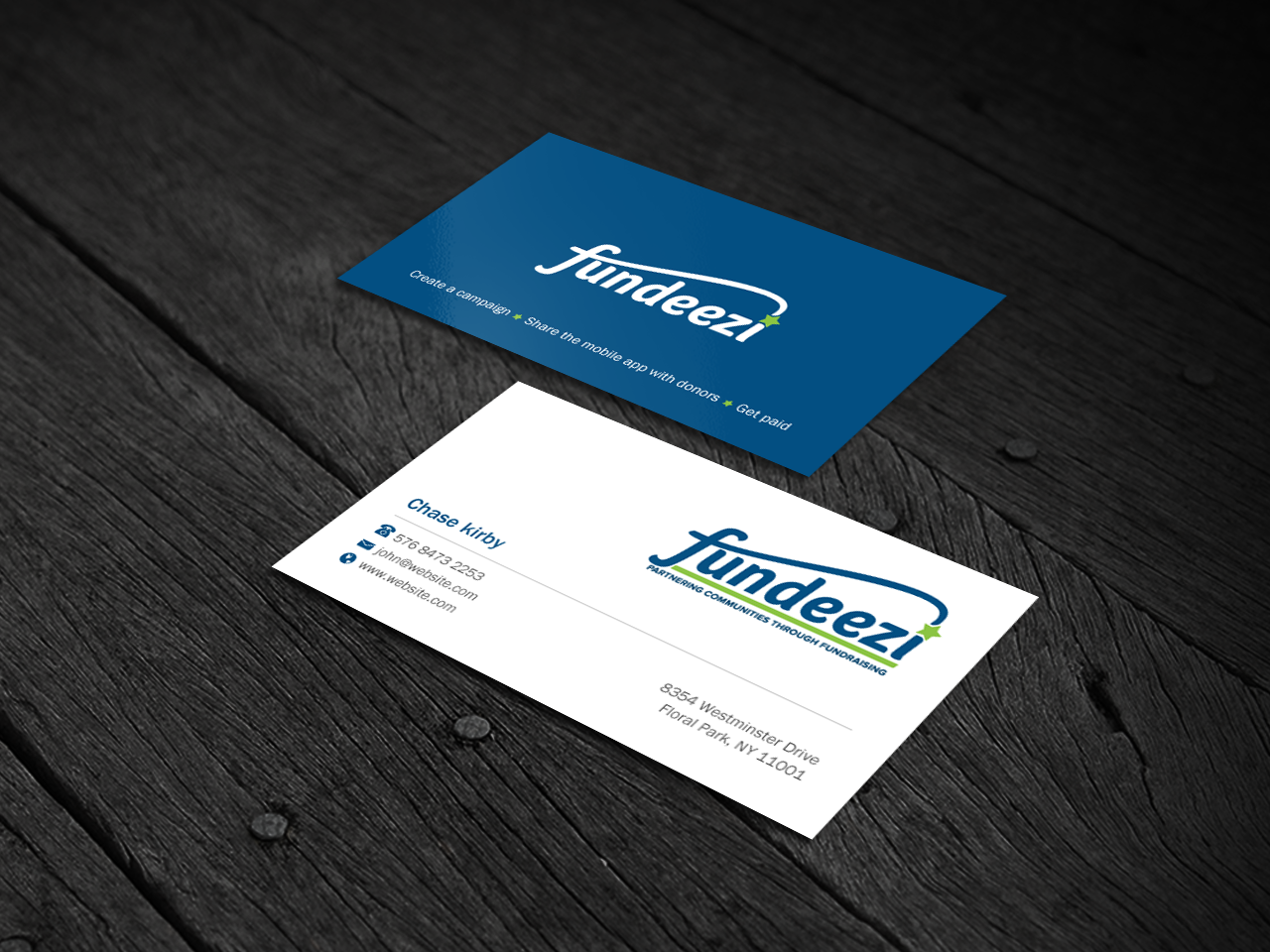 Modern, Professional Business Card Design for Chase Kirby by Brand ...